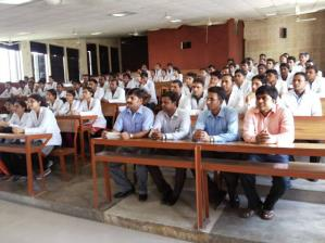 Audience at the scientific meet , held on 1st Sept 2014 at BRD Medical College, Gorakhpur